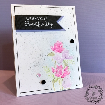 My Empty Nest Creations card using Zig Clean Color Markers