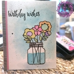 My Empty Nest Creations Paper Smooches Best Buds Birthday Card
