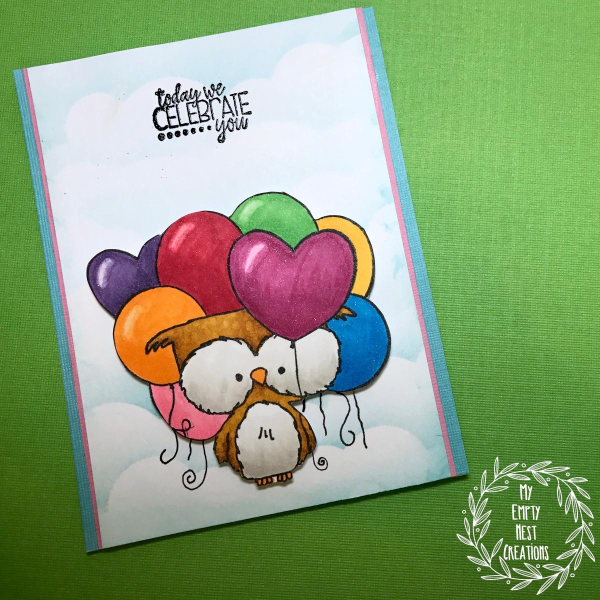 My Empty Nest Creations Unity Hugs, Kisses & Birthday Wishes Stamp Set