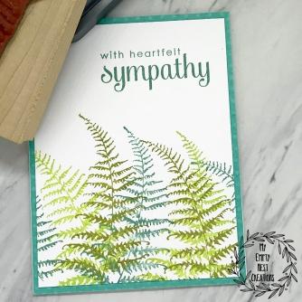 My Empty Nest Creations Heartfelt Sympathy Card