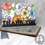 My Empty Nest Creations Hero Arts Floating Blossoms Thank You Card